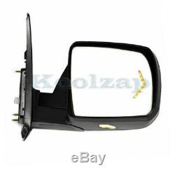 For Tundra Power Fold Heated Memory withPuddle Signal Lamp Mirror Right Passenger