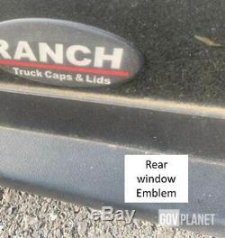 Full-size RANCH BRAND Pickup Truck Bed Cap Top STYLE Ranch HD