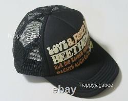 Kapital Capital Love & Peace BEETHOVEN Truck Mesh Cap Black From Japan New