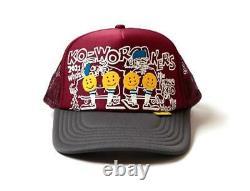 Kapital knee Kid 2TONE truck cap hat trucker enji gray new