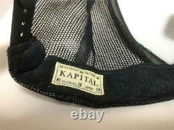 Kapital kountry love&peace beethoven truck cap hat trucker brand new black