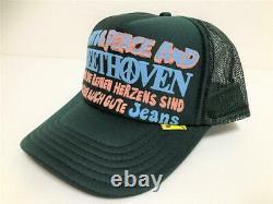 Kapital kountry love&peace beethoven truck cap hat trucker brand new green