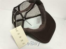 Kapital kountry woring puking pt truck cap mesh hat brown brand new
