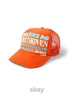Love&Peace BEETHOVEN Truck Mesh CAP KAPITAL 250th Anniversary Beethoven Rare