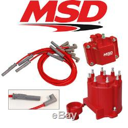 MSD Ignition Tuneup Kit 1990-95 Chevy/GMC Truck 454/7.4L Cap/Rotor/Coil/Wires