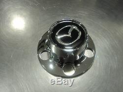 Mazda B series truck 1998-2010 New OEM chrome & black wheel center caps set of 4