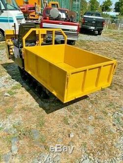 Mini Dump Truck, Crawler, NEW, EPA certified USA gas engine. 2200 LB weight Cap
