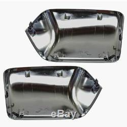 Mirror Towing Chrome Power Fold Telescope Heated Memory Smoke Turn Mirror Pair