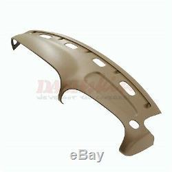 Molded Dash Cover Skin Cap (Camel/Tan) withBezel Cover 99 00 01 Dodge Ram