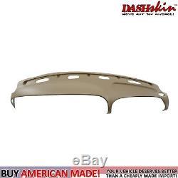 Molded Dash Cover Skin Cap Overlay 98 99 00 01 Dodge Ram Truck Camel/Tan K9