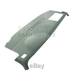 Molded Dash Cover Skin Cap Overlay for 07-14 Tahoe in Dark Titanium withspkr holes