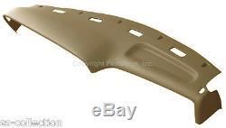 NEW Saddle Tan Molded Dash Cover / Top Pad Cap / FOR 1994-1997 DODGE RAM TRUCKS