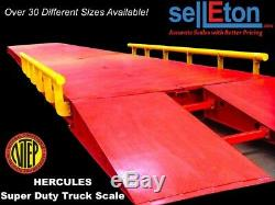 NEW Super Duty Truck Scale 130,000 lbs cap (NTEP / Legal for trade) 40' x 10