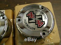 NOS OEM Ford 1990 1998 F150 F250 Truck Hub Lock Caps 1991 1992 1993 1994 1995