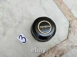 NOS Toyota 4 Runner T100 Land Cruiser Wheels Center Hub Caps Yellow Pickup Truck