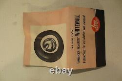 NOS Vintage LYON Whitewall Trim Beauty Rings 15 Wheels 1930's 1940's Hubcaps