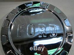 New 1961-1965 Ford F-100 Pickup Truck Stainless Hub Caps ...