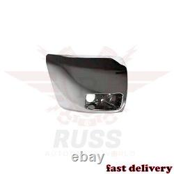 New Front Bumper End Chrome WithFog Hole Left & Right For 2007-2013 Silverado 1500