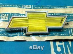 Nos 80 C/k Chevy Truck Grill Emblem Bowtie Ornament 80 82 G Van Ck C&k C K Trim