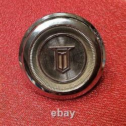 Nos Gm 1965 Chevy II Nova Ss C10 Truck Chrome Steering Wheel Horn Cap Gm 3858193