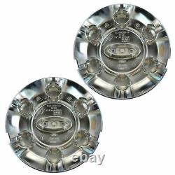 OEM 5L3Z-1130-S Wheel Hub Center Cap Cover Chrome Pair for 04-08 Ford F150 New