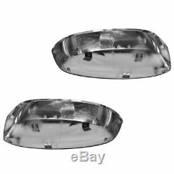 OEM Mirror Caps Chrome LH & RH Driver & Passenger Pair Set for GM Truck
