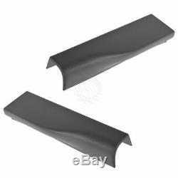 OEM Tailgate Molding Trim End Cap Charcoal Pair Set for Ford Pickup Flex Step