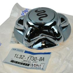 OEM Wheel Hub Center Cap Cover Chrome for F150 Truck King Ranch New