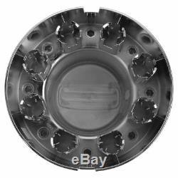 OEM Wheel Hub Center Cap Rear Chrome for Ram 3500 Longhorn Dual Rear Wheels DRW