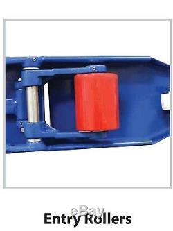 PALLET JACK HAND TRUCK 21.5 X 48 5500 # Cap NEW 1-YEAR WARRANTY SHIPS FREE