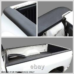 Pair Black Truck Bed Cap Molding Rail Cover For 94-02 Ram 1500/2500/3500 8Ft Bed
