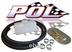 Performance Online 55-59 Chevy Truck Master Cylinder Remote Fill Cap Kit