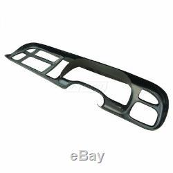 Plastic Black Dash Board Bezel Cover Cap for 98-01 Dodge Ram Pickup Truck