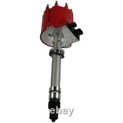 Red Cap Ignition Distributor For Chevy GMC C/K Pickup Truck 5.0L 5.7L 7.4L
