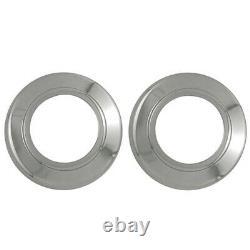 SETOF4 8LUG 16 Chrome Wheel Center Hub Caps Covers for FORD TRUCK VAN Alloy Rim