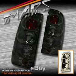 Smoked Altezza Tail Lights for TOYOTA HILUX VIGO UTE TRUCK 2005-2015 Pick up Cap