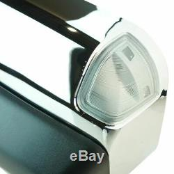 Towing Mirror Power Heated Market Light Chrome Caps Pair for Dodge Ram New