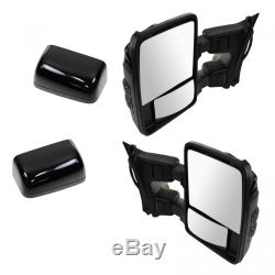 Trail Ridge Tow Mirror Upgrade Power Heat Fold Memory Smoked Turn Pair for Ford
