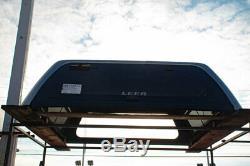 Truck Cap- Leer 100XQ 5.5 with cloths rack & liner