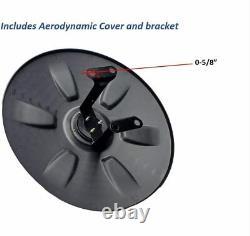 Wheel Cap for Volvo Trucks -Aerodynamic 22.5 Wheel Hub Cap Set + Logo & Wipers